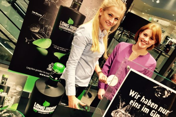 Gin-Promotion im Kaufhaus Breuninger Leipzig