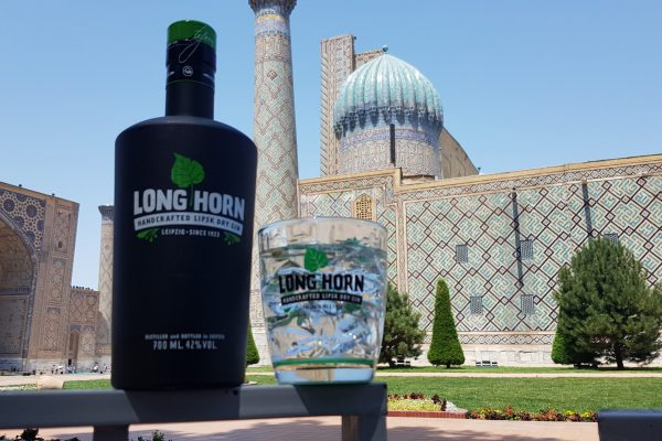 Long Horn Gin in Samarkand
