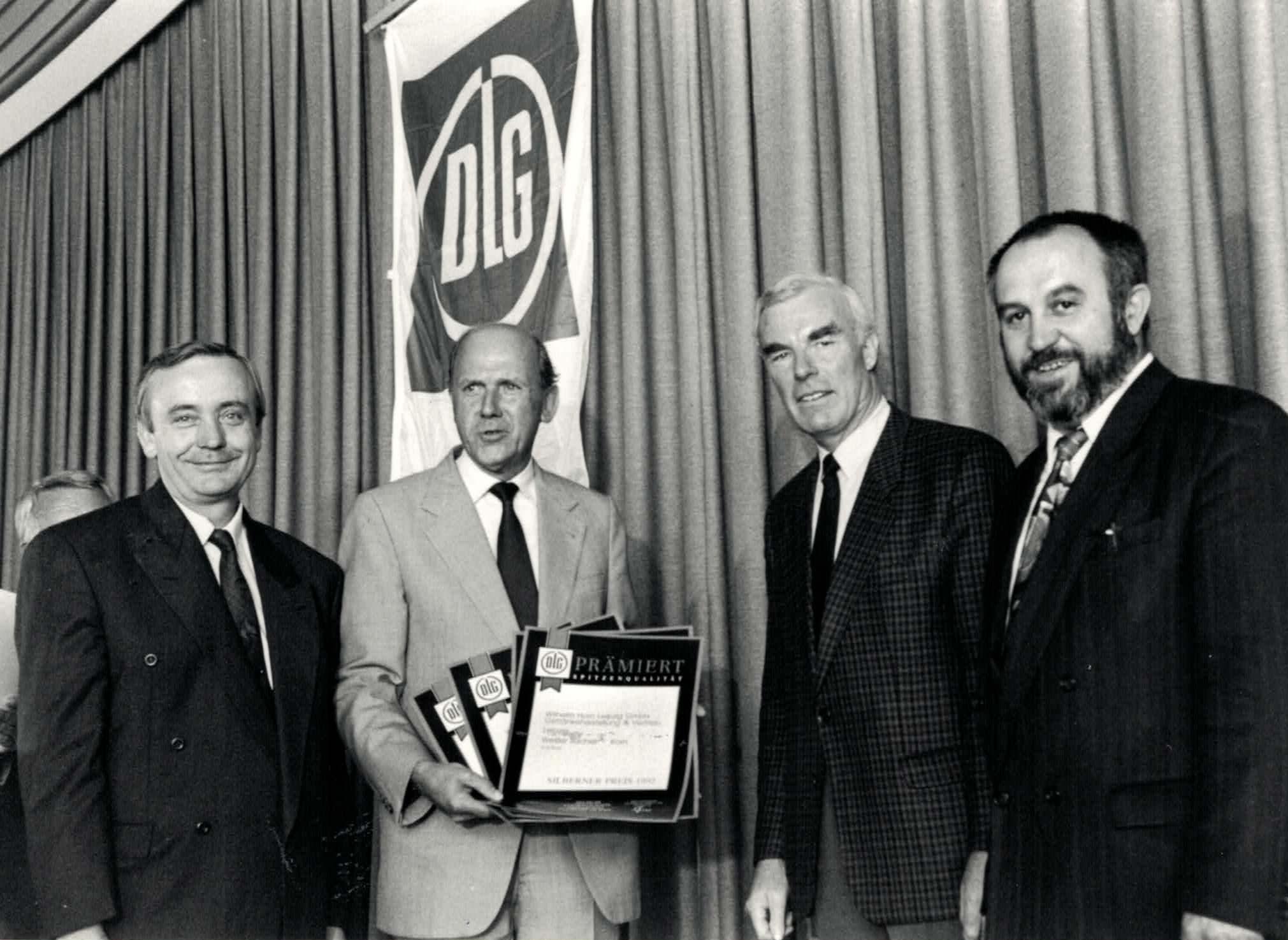 Klaus Horn erhält DLG-Auszeichnung